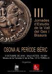 Cartell de les III Jornades d'Estudis de la Vall del Ges i Bisaura