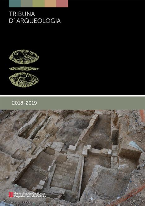 Portada del programa de la Tribuna d'Arqueologia 2018-2019