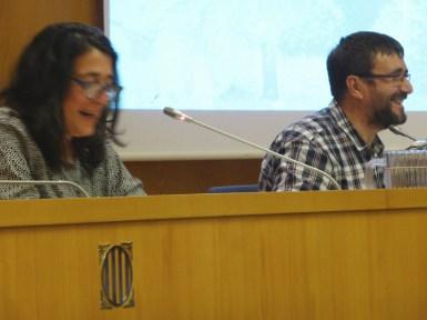 Sessió de la Tribuna d'Arqueologia del 19 de desembre de 2018. Fotografia: Maria Adserias