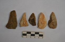 2. Puntes mosterianes de la Cova de les Teixoneres (Nivell IIIb).