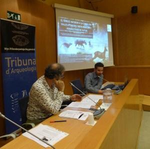 10. Sessió de la Tribuna d'Arqueologia del 30 de gener de 2019. Fotografia: Quim Folch
