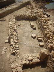 2- Detall d'un dels àmbits productius de finals del segle VII-inici VIII