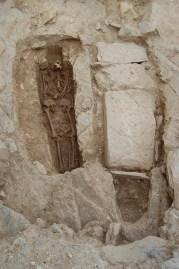 4. Tombes 1507 i 1508 durant el seu procés d'excavació.