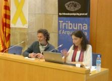 9. Sessió de la Tribuna d'Arqueologia del 8 de maig de 2019. Fotografia: Toni Martín