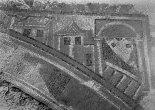 2. Detall del mosaic principal on es veuen les edificacions. Font: Arxiu IEI.