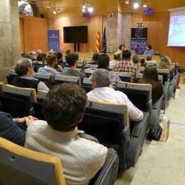 Sessió de la Tribuna d'Arqueologia del 5 de febrer de 2020. Fotografia: Maria Adserias