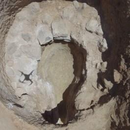 6. Vista zenital del forn de calç. Fotografia: Arqueòlegs.cat