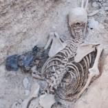 10. Tres carteres de pell que duia un dels soldats republicans recuperats en una de les fosses del Soleràs. Fotografia: Iltirta Arqueologia