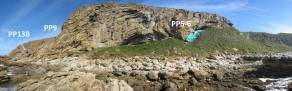 Fotografia panoràmica de Pinnacle Point.