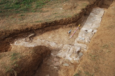 4. Localització de la vil·la romana de la Bòbila d'en Font (Fot. Lluís Joan)