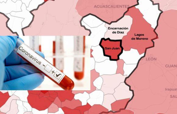 Registra Región Altos Norte 284 casos de COVID-19 en los últimos 15 días