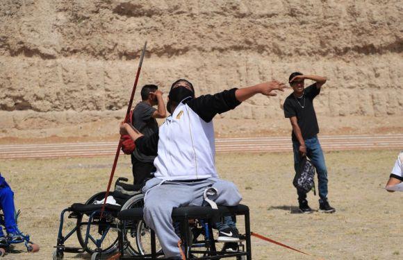 Recibe Encarnación de Díaz  a atletas de la región en deporte adaptado