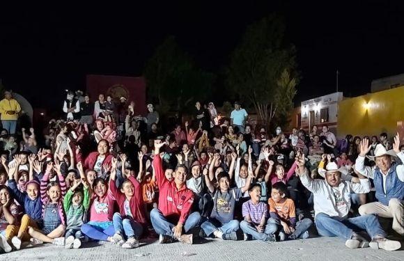 Cientos de personas demuestran su apoyo al candidato del PRI en Ojuelos Dr Tomás Gómez