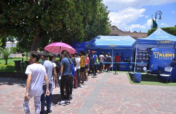 Realiza CODE Jalisco detección de talentos deportivos en Lagos de Moreno