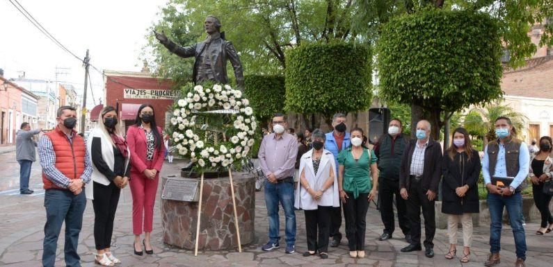 Conmemoran el 213° Aniversario Luctuoso de Francisco Primo de Verdad y Ramos