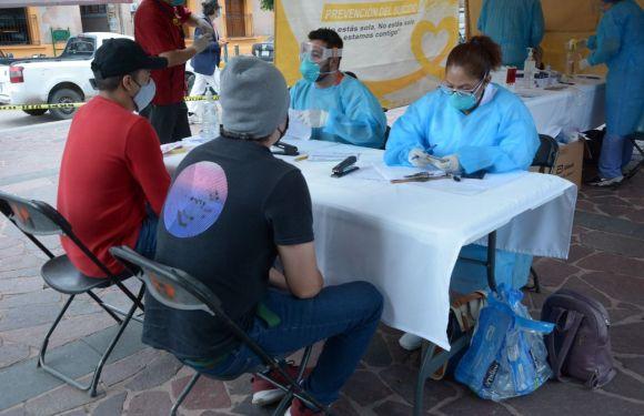 Secretaría de Salud y Salud Municipal realizan pruebas gratuitas de Covid-19
