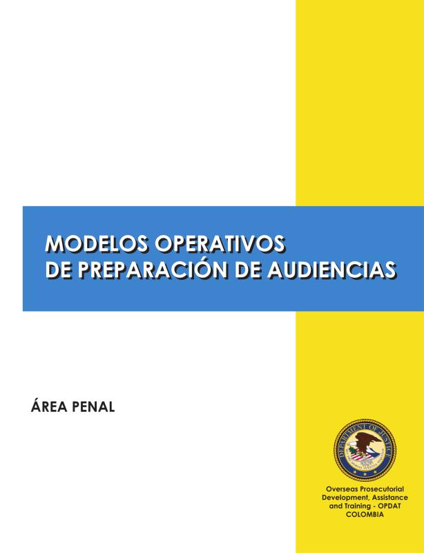 Modelos Oeprativos de Preparación de Audiencias MOPAs