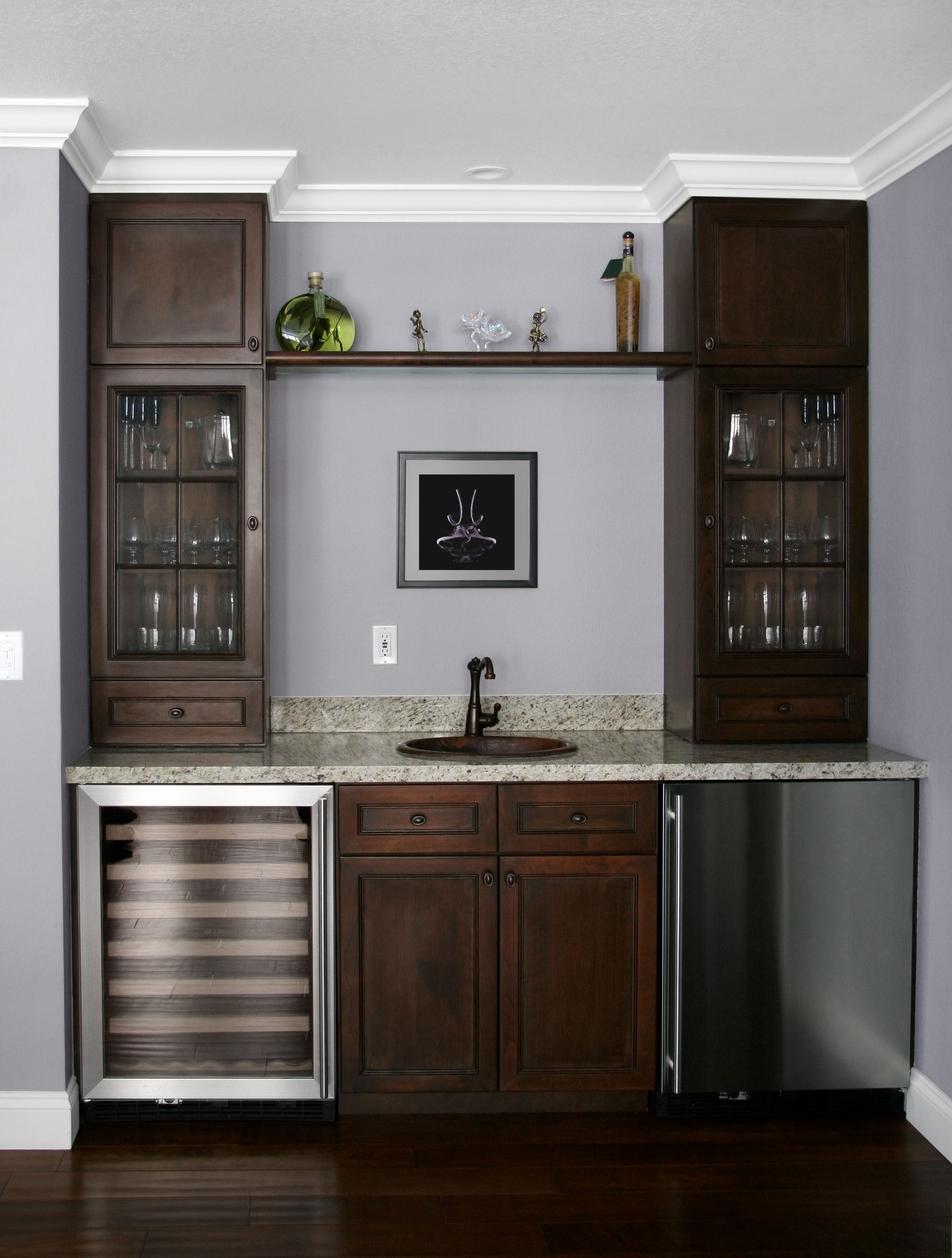 Planning a wet bar Visit a real one and take notes