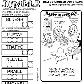Jumble® for Kids by David L. Hoyt and Jeff Knurek