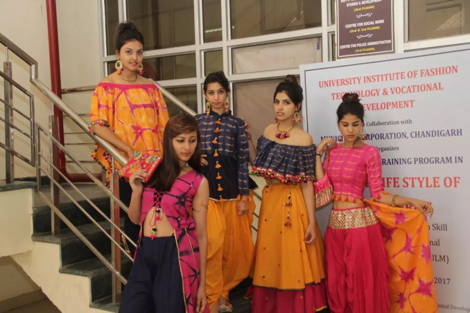 Image result for University Institute of Fashion Technology chandigarh images