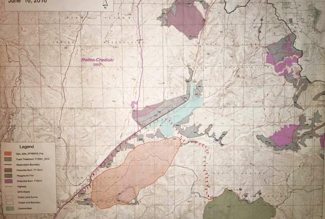 Cedar Fire Trigger Point Map – The Tribune on