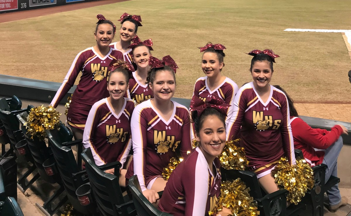 WHS Pom Squad recognized for placing in state competition
