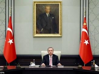 Turkish President Recep Tayyip Erdogan. PHOTO: EPA