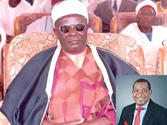 Late Lazarus Agai, Saf Ron Kulere of Bokkos INSET: Governor Solomon Lalong, Plateau State