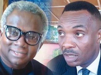 Okechukwu, left and Nwoye