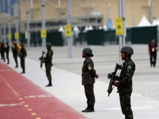 The military are to begin patrolling sports venues from July 24, authorities said. PHOTO: REUTERS