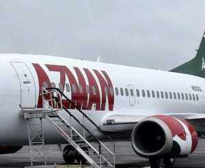 Azman Air Services, barred from flying into Saudi Arabia. PHOTO: NEW MAIL