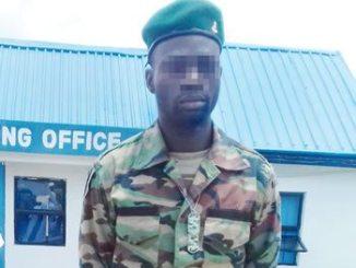 Kwara-fake-soldier-Veiled