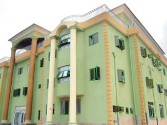The newly inaugurated Co-operative building in Lagos