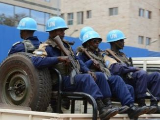 UN peacekeepers were sent to the CAR in 2014. PHOTO: AFP