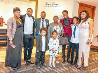 Members  of the Late Kolawoke Durosaro family at the event.
