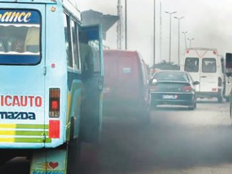 Sulphur particles in diesel emissions have been linked to a range of health problems. PHOTO: AFP