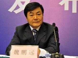 Wei Pengyuan. PHOTO: SHANGHAIDAILY