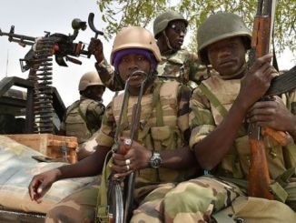 Soldiers from Niger are involved in the fight against Boko Haram. PHOTO: AFP