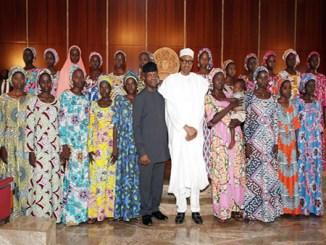 buhari-chibok-girls