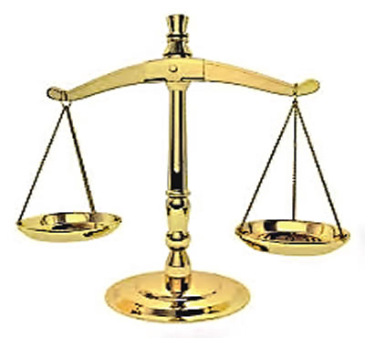 court scale of justice