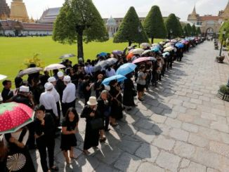 The official mourning period will last a year. PHOTO: REUTERS