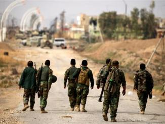 Iraqi Kurdish forces seized the town of Bashiqa near Mosul from ISIL, an official said. PHOTO:  REUTERS