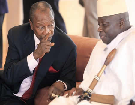 Gambia: Jammeh leaves into exile with Guinea's president