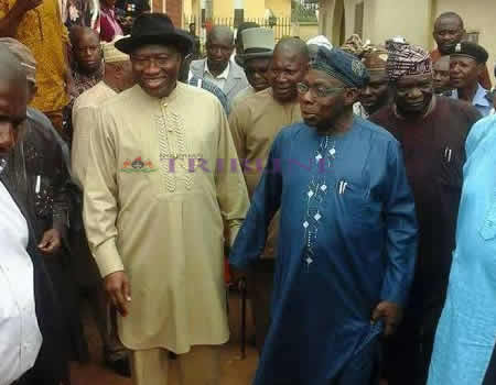 Jonathan in closed-door meeting with OBJ