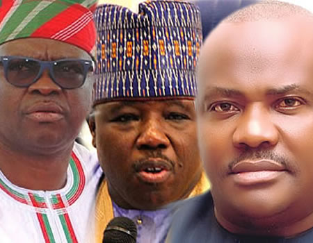 No room for Wike, Fayose in PDP again —Sheriff •We'll fight to the end —PDP govs
