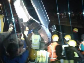 car accident in lagos river