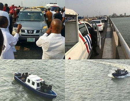 BREAKING: Body of Allwell Orji, doctor, who jumped into Lagos lagoon found
