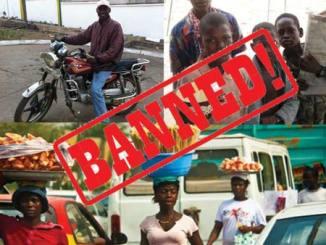 Kaduna ban begging-hawking-okada