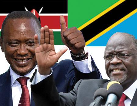 kenya-Tanzania-Uhuru-kenyatta-John-Magufuli