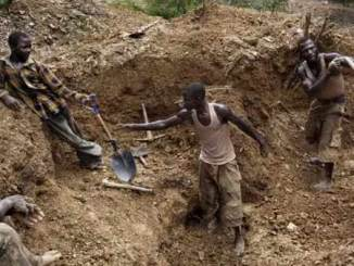 mine - mining site